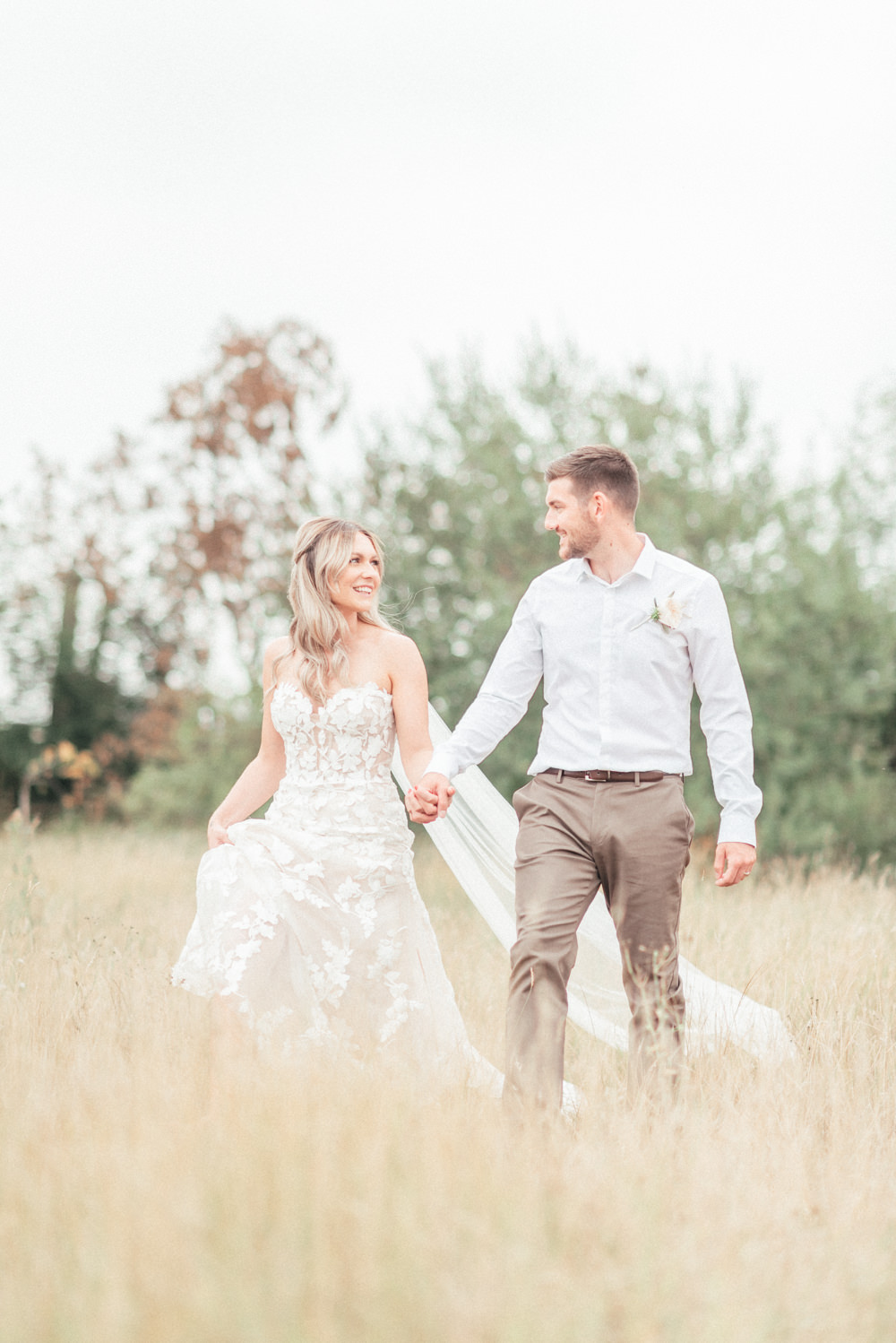 Groom Suit Brown Trousers Shirt UK Destination Wedding Hannah McClune Photography