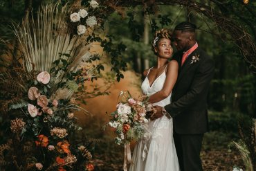 Love In the Woods Wedding – Rustic & Bohemian Inspiration