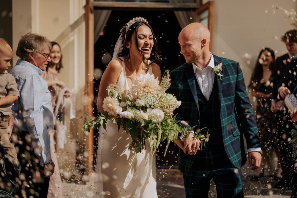 Confetti Throw Brighton Town Hall Wedding Bloom Weddings
