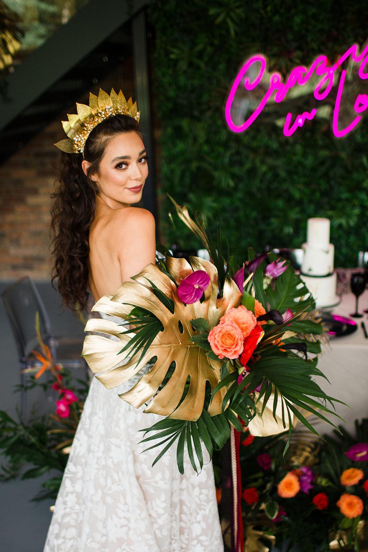 Jungle Wedding Ideas Terri Pashley Photography