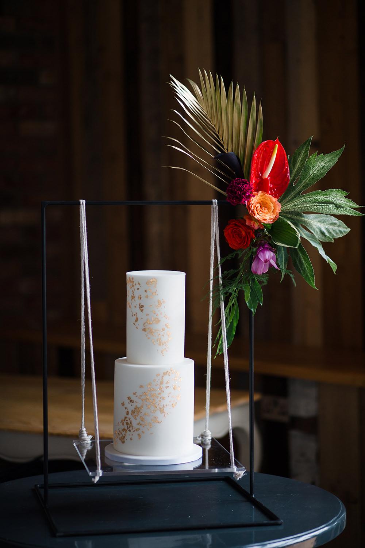 Cake Swing Table Jungle Wedding Ideas Terri Pashley Photography