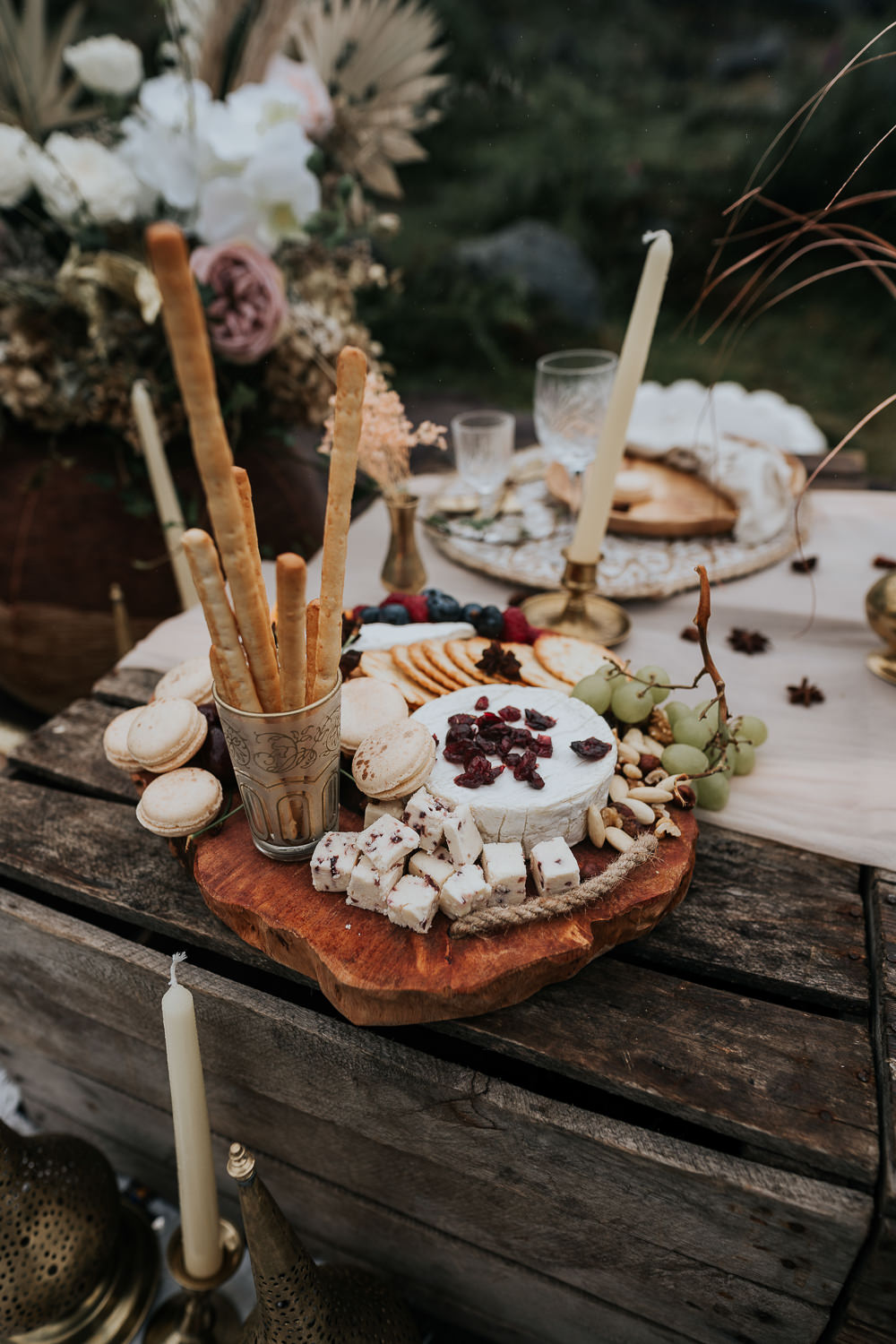 Food Treats UK Boho Elopement Jenny Appleton