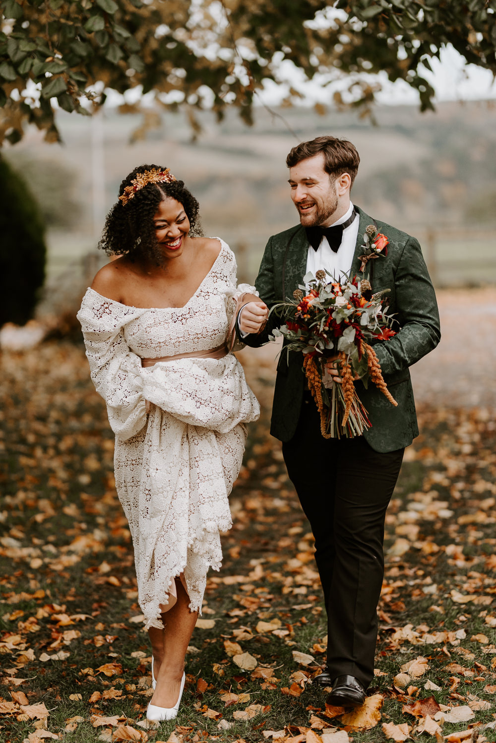 Autumn Wedding Colours Laura Williams Photography