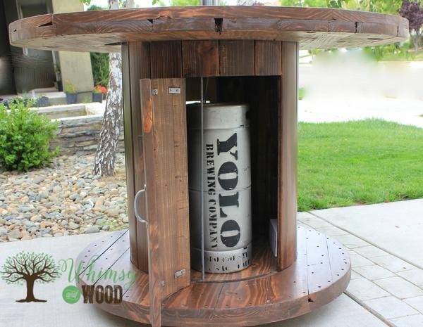 keg spool door and yolo brew keg