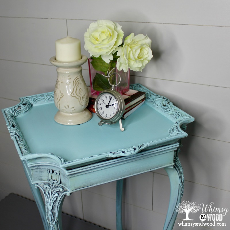 cove side table from top