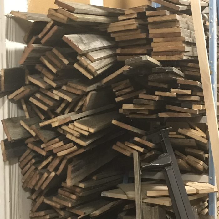 "stacked ""barn wood"""