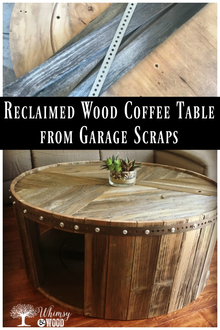 Reclaimed Wood Coffee Table inspired by a trip to Napa