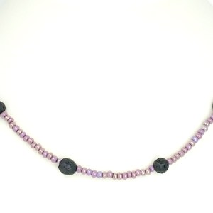 Aromatherapy Volcanic Lava Necklace