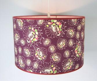 # Purple Flora Pendant