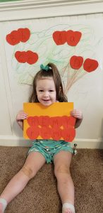 Apple Picking preschool activity