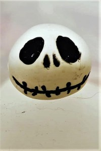 Jack Skellington Clay Bead