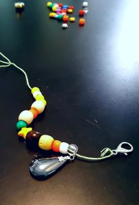 kid's necklace craft kit