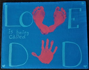 Love Is...being called DAD Valentine's Day Gift