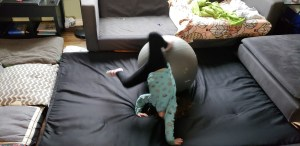 Things to do indoors Obstacle course pillow fort