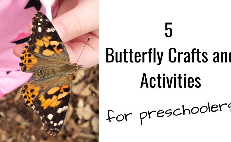 5 butterfly crafts and activities