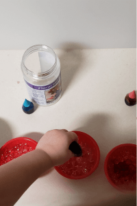 coloring Water Beads