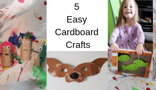 5 Easy Cardboard Crafts