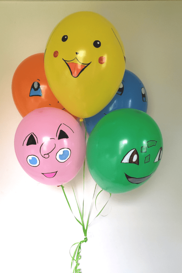 pokemon party balloons