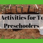 Garden Activities for Toddlers and Preschoolers