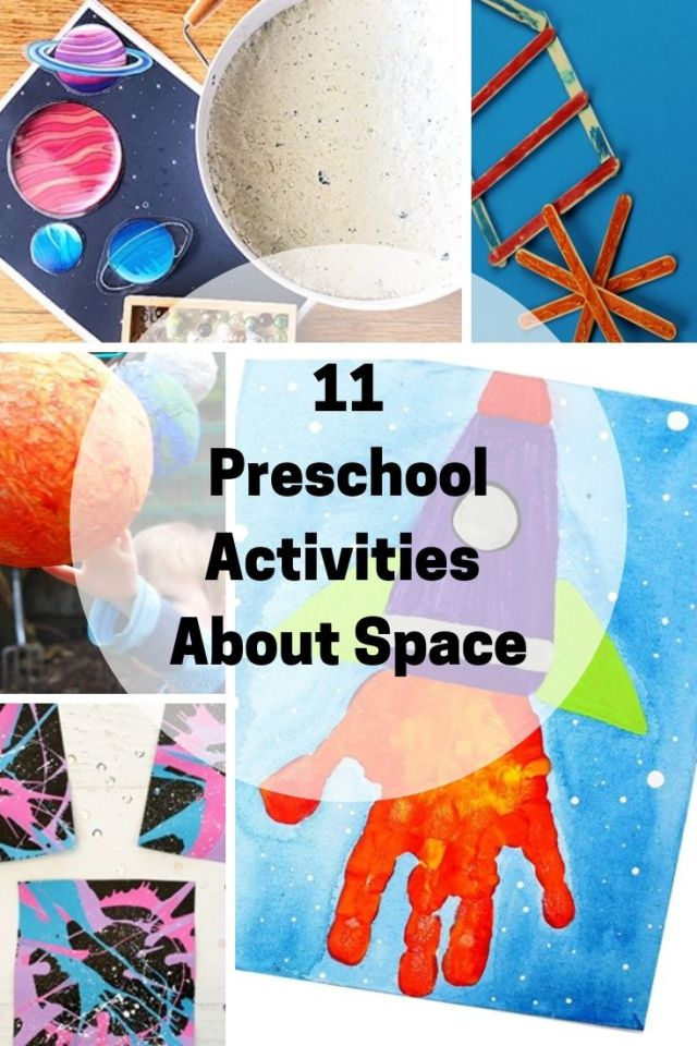 Preschool Activities about space