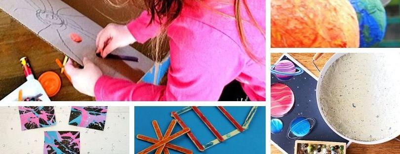 Preschool activities about space