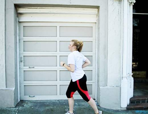 running tips, workingout while an adult