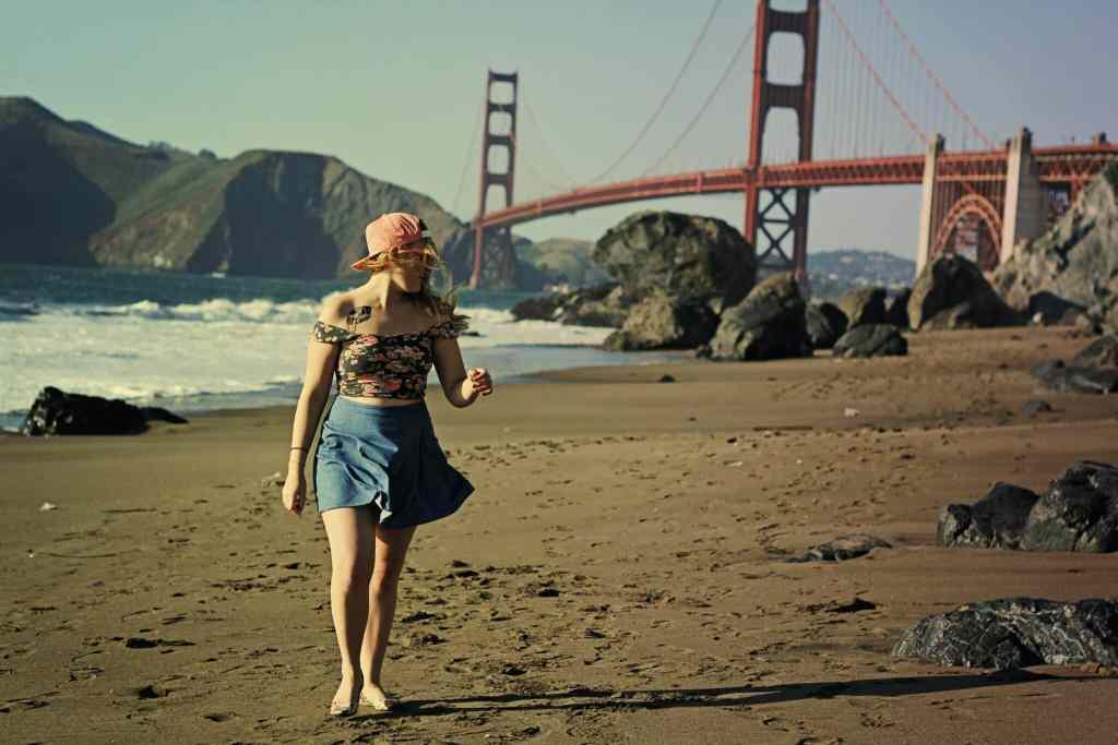 Golden Hour at the Golden Gate Bridge