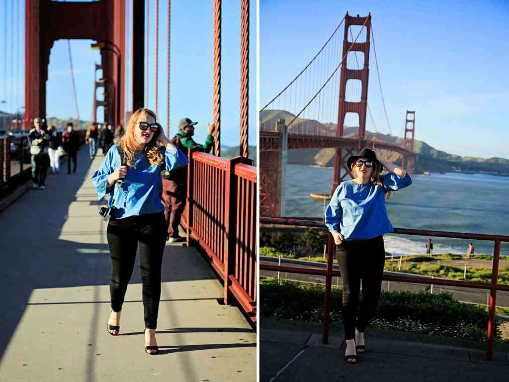 Walking across the Golden Gate Bridge - Whimsy Soul