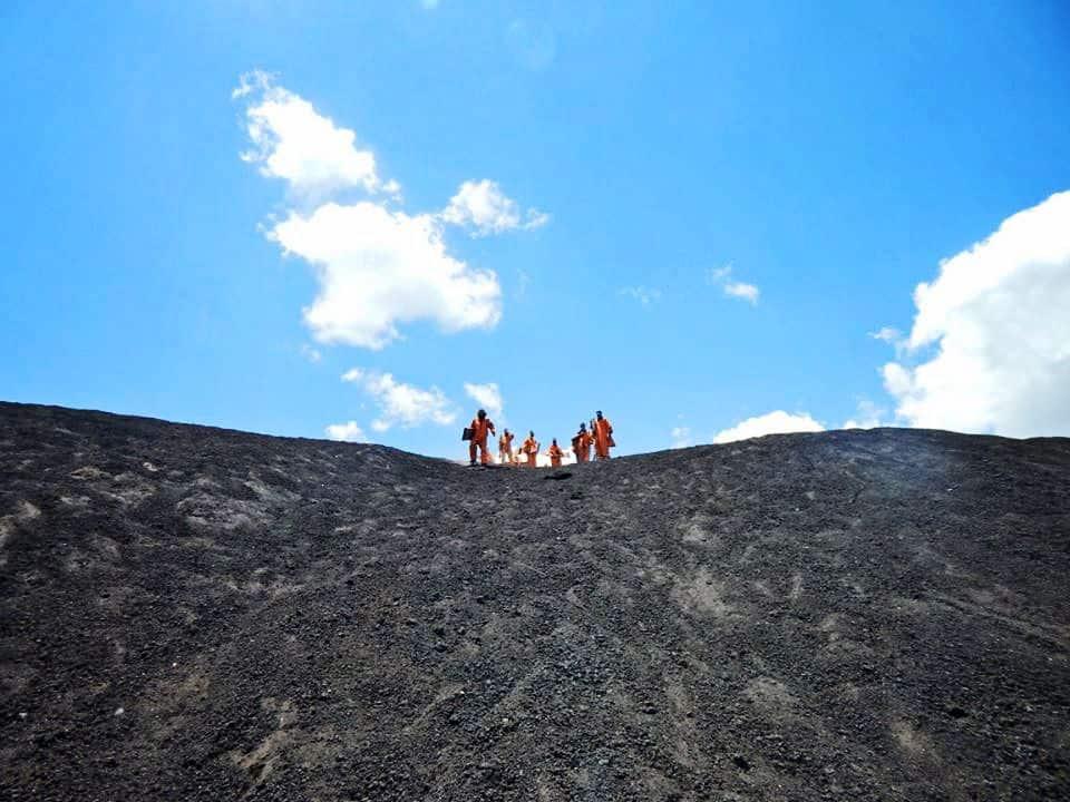 Bigfoot Hostel Volcano Boarding in Leon