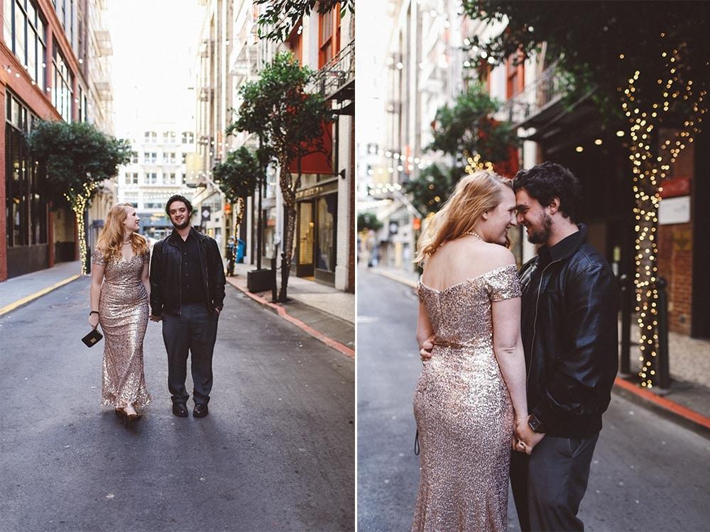 San Francisco Engagement Photo Idea