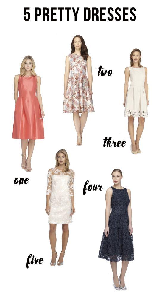 5 Pretty A-Line Dresses