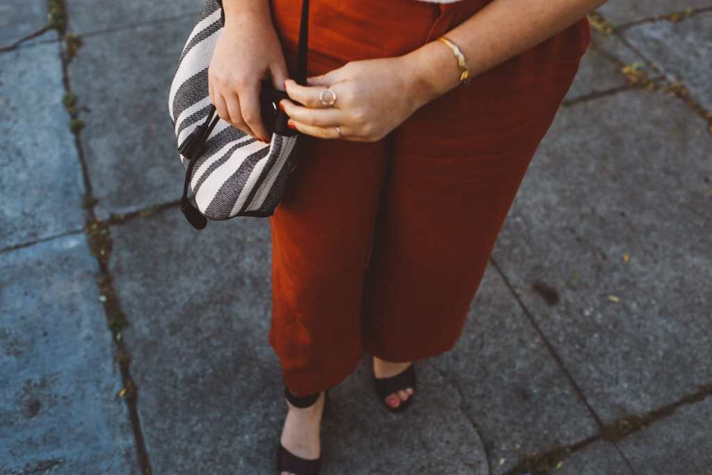 orange Culottes