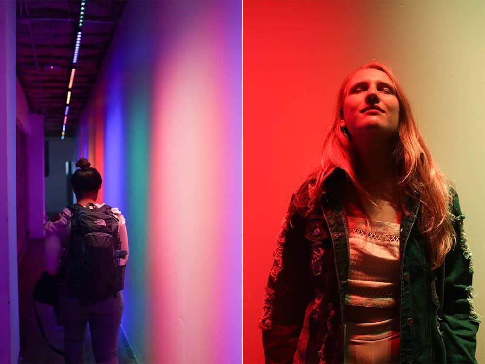 Color Factory hallway room san francisco