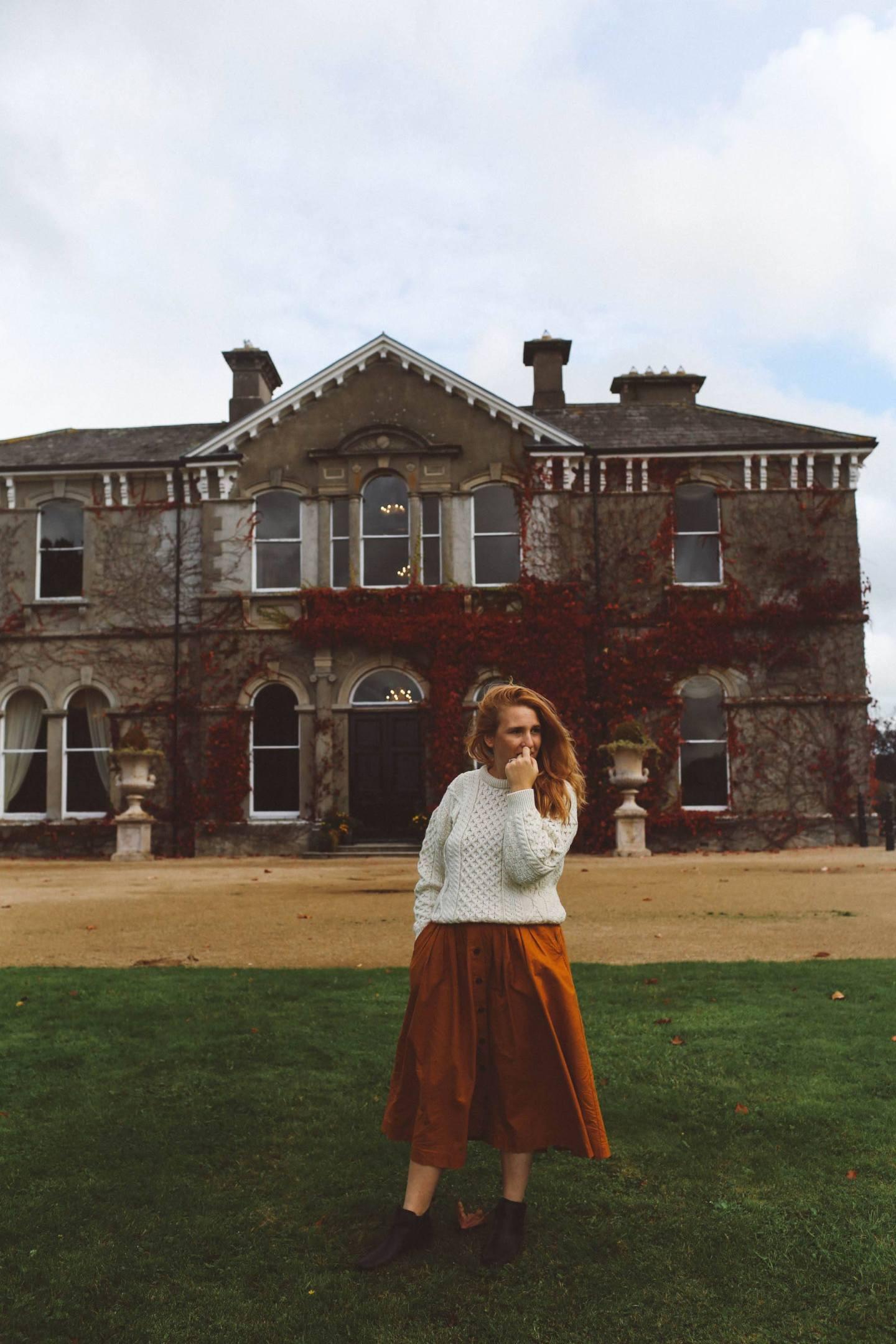 Killkenny hotel estate Lyrath outfit