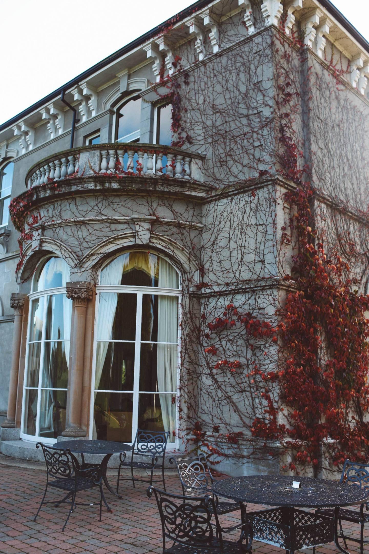 Killkenny hotel estate Lyrath red ivy
