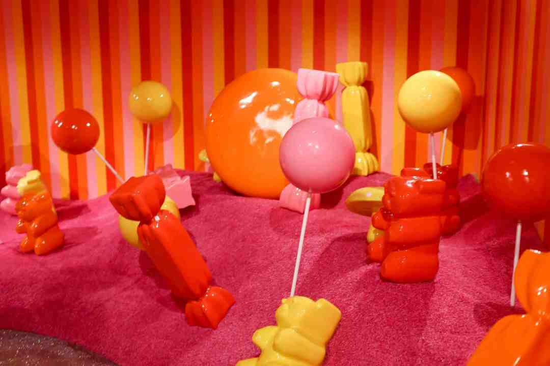 Museum of Ice Cream San Francisco gummy bear room