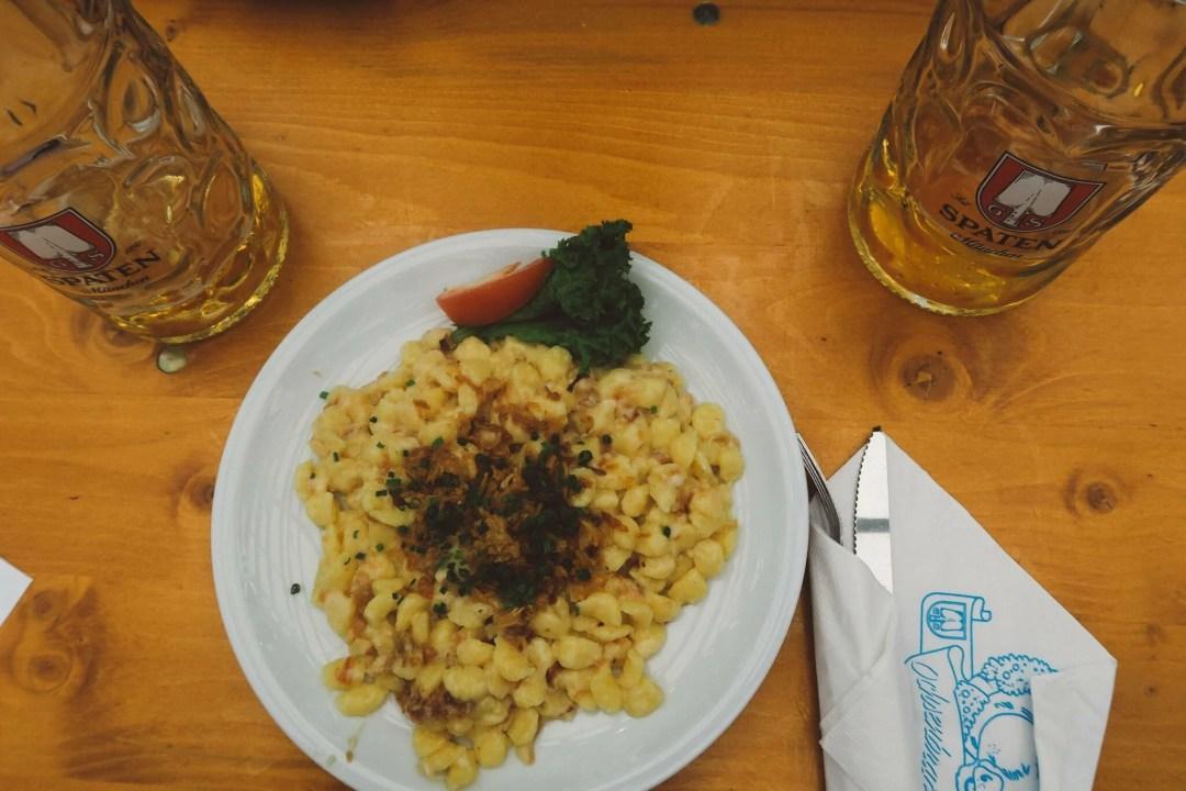 Oktoberfest Munich menu