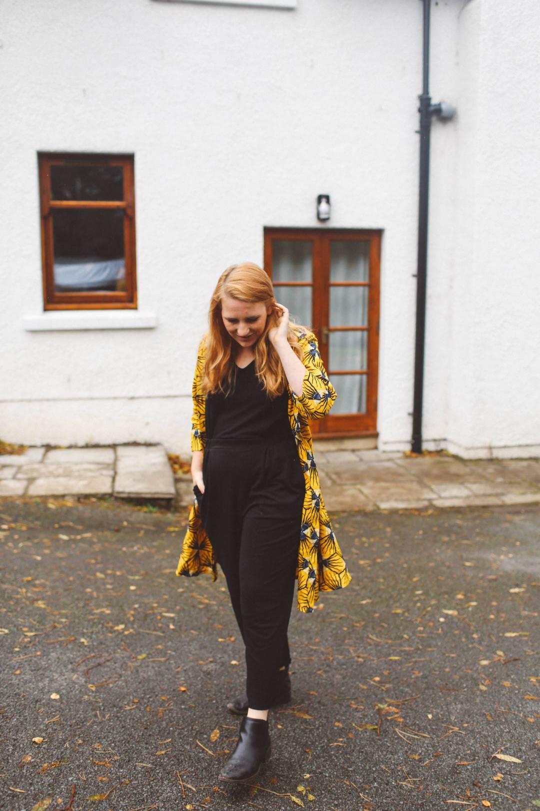 shop zuri dress yellow