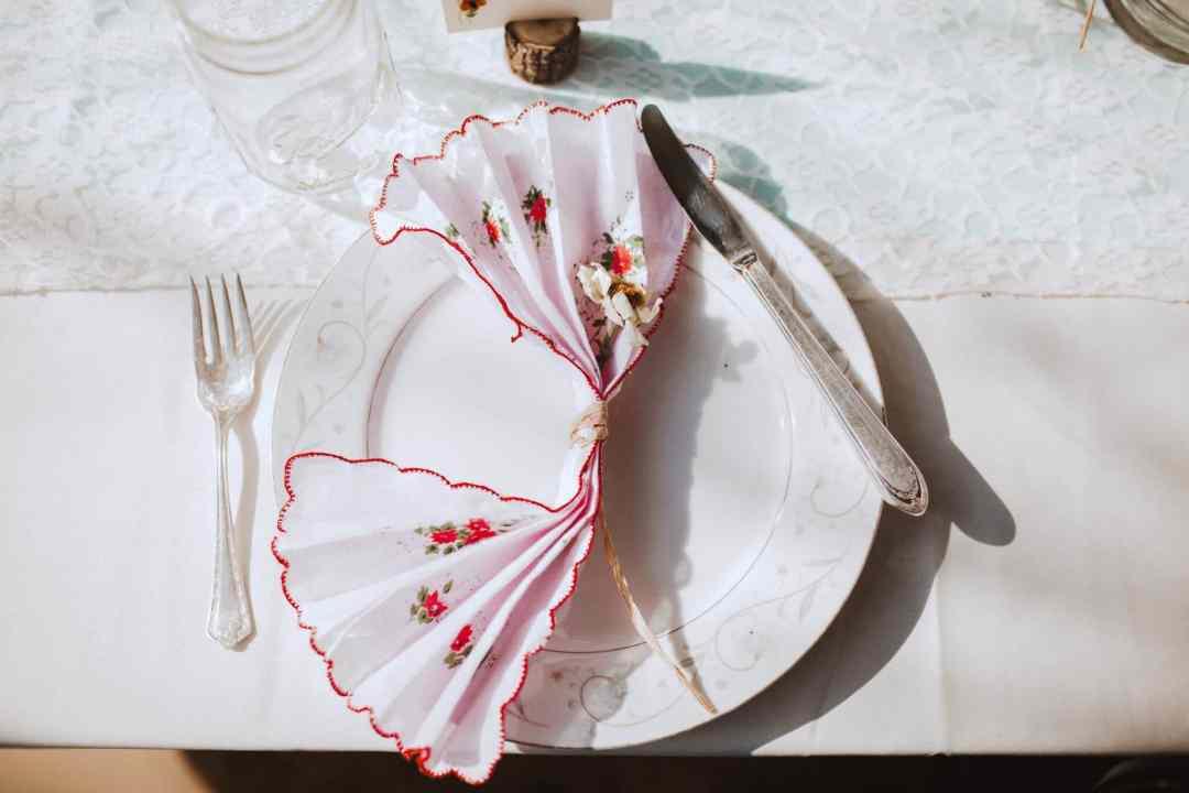 wedding napkin boho