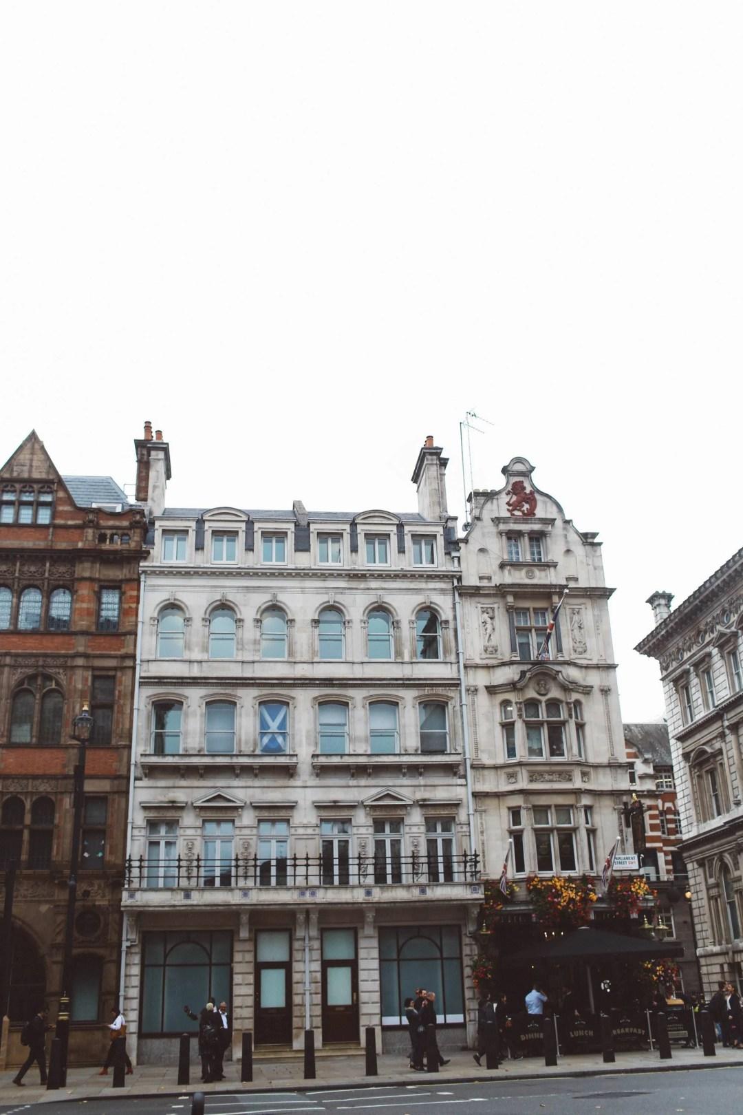 london building downtown