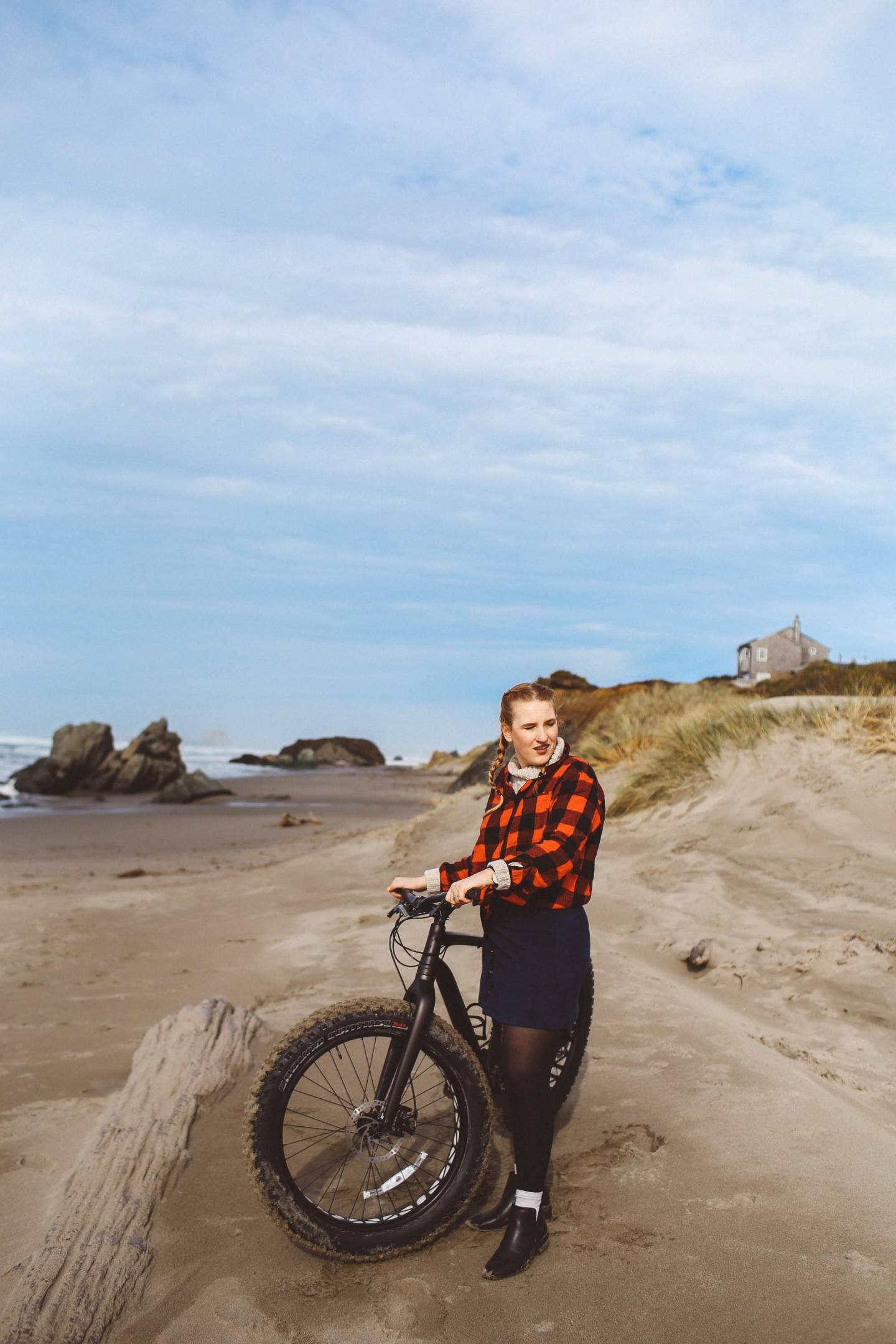 oregon coast fat tire biking