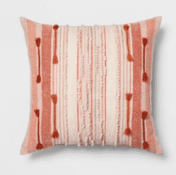 Global Stripe Oversize Square Pillow