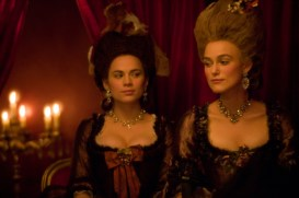 DCH-084 [3931].JPG- Hayley Atwell as ÒElizabeth ÔBessÕ FosterÓ and Keira Knightley as ÒGeorgiana, the Duchess of DevonshireÓ star in THE DUCHESS, a Paramount Vantage release. Photo by Peter Mountain