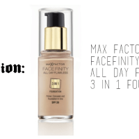 RECENSION: Max Factor Facefinity All Day Flawless 3 in 1 Foundation