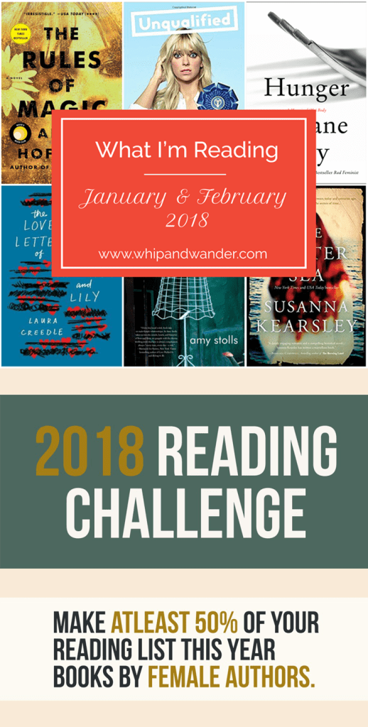 Jan Feb 2018 reading challenge