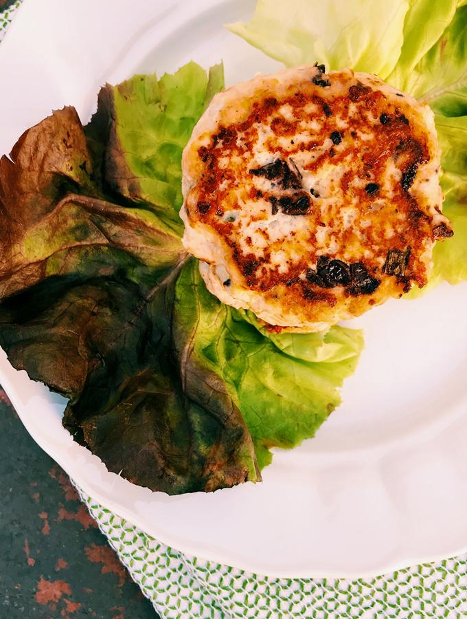 Mediterranean Turkey Burgers