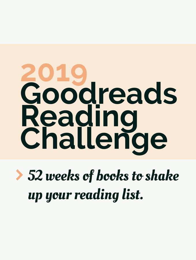 2019 Goodreads Reading Challenge