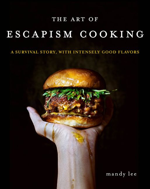 The Art of Escapism Cooking Book Cover Art