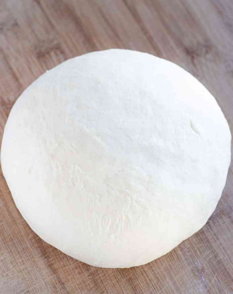 monkey bread dough after kneading