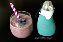 Blueberry - Pear Smoothie